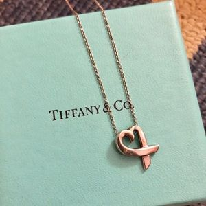 Tiffany & Co. Jewelry - Tiffany & Co. Paloma Picasso silver heart necklace